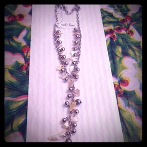 Sterling Silver and Shell Necklace